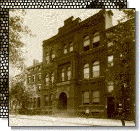 vintage photograph of original law school building