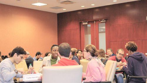 Students participating in the Colloquium