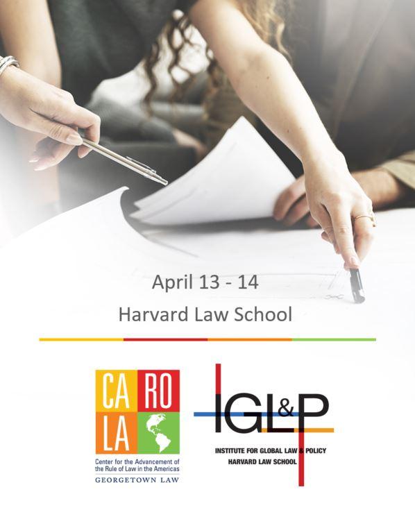 Hands at work with CAROLA and IGLP logos