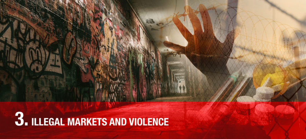 ILLEGAL markets and violence