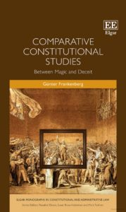 Cover of Günter Frankenberg's book titled Comparative Constitutional Studies