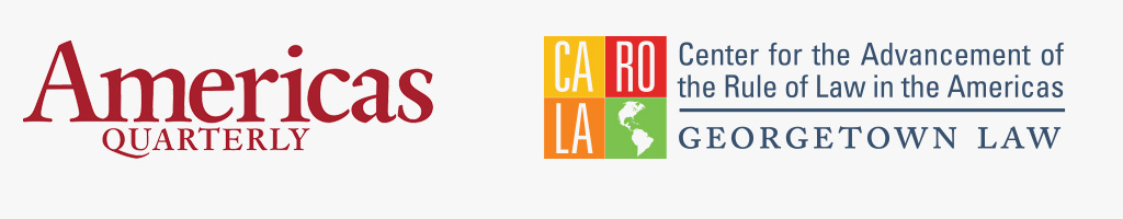 logos of CAROLA and Americas Quarterly
