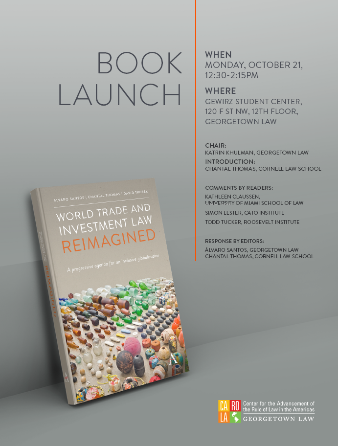Flyer announcing the booklaunch