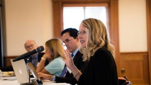 Brooke Guven presenting during workshop