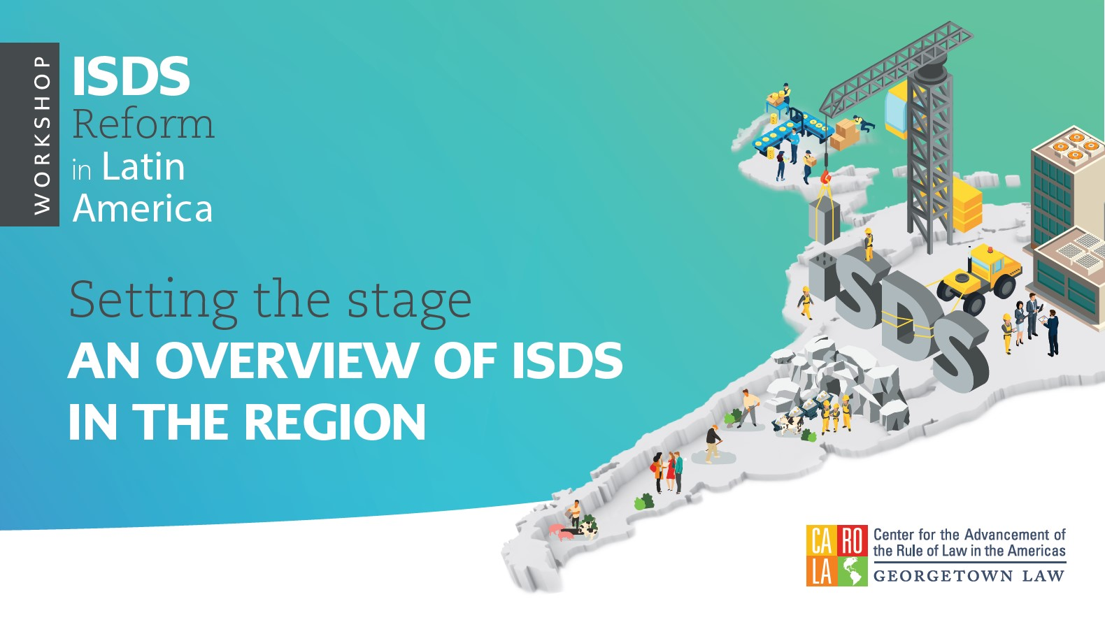 An overview of ISDS in the region - click on inamge for the complete presentation