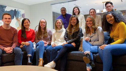 Senior Board Potluck - Group Photo