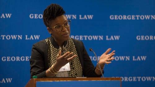 Keynote speaker Professor E. Tendayi Achiume discusses