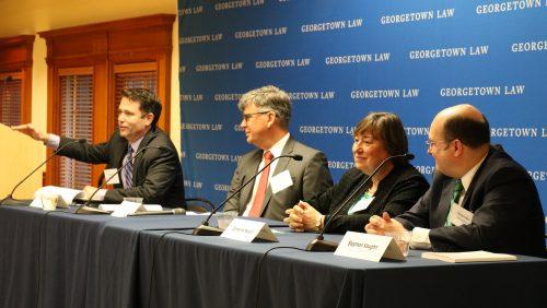 Tim Keeler, Catherine Novelli Panel