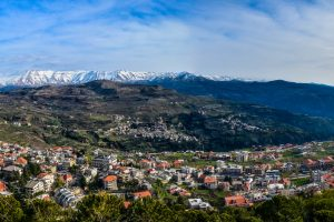A view from Mount Makmal, Lebanon