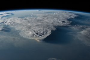 Thunderstorms over the South China Sea (NASA)