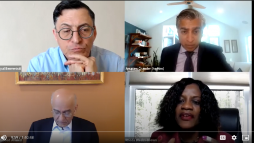 Video Recording of The Capacity of International Organizations to Respond to Crises