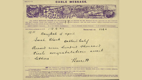Dr. Marion Cheek Papers