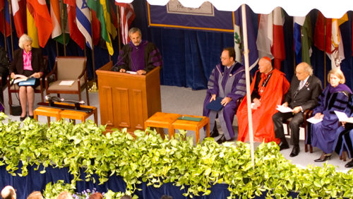 2004 Eric E. Hotung International Law Building Dedication