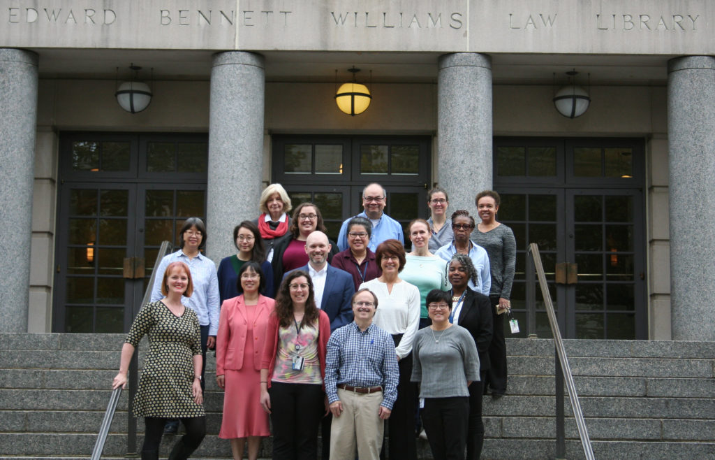 Staff Photo of Williams Law Library