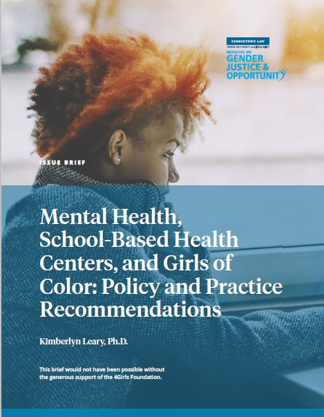 Mental Health School Based Health and Girls of Color
