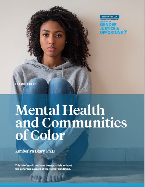 Mental Health and Communities of Color for Release