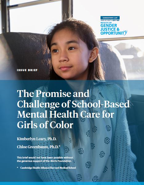 The Promise and Challenge of School-Based Mental Health Care for Girls of Color