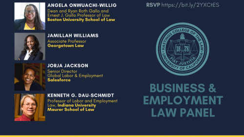 Hastings Law Journal Symposium: The Pandemic and the People: Social Justice Implications of COVID-19 | Business and Employment Law Panel