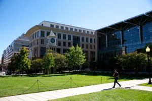 Georgetown Law campus