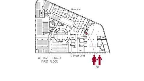 Williams Library 1 Floorplan