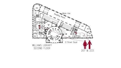 Williams Library 2 Floorplan