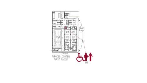 Fitness Center 1 Floorplan