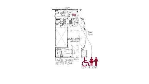 Fitness Center 2 Floorplan