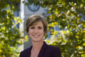 Sally Q. Yates, former Acting U.S. Attorney General and U.S. Deputy Attorney General, joined Georgetown Law for the Fall 2017 semester as a Distinguished Lecturer from Government.