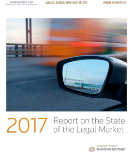 Report on the State of the Legal Market Cover Image