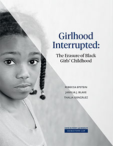 Girlhood Interrupted cover report image