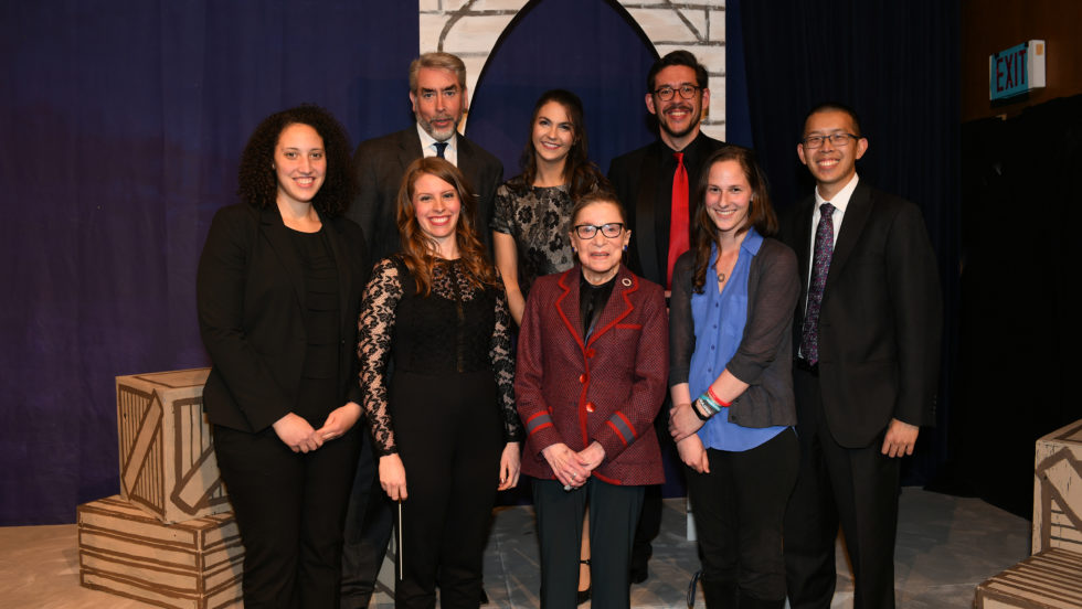Supreme Court Justice Ruth Bader Ginsburg Inaugurates Annual Lecture Series Georgetown Law
