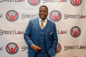 Patrick Campbell (C'92) never attended Georgetown Law, but his experience being taught by Georgetown Law students as a D.C. high school student in the Street Law program paved the way for his future success as a lawyer. (King Creative Studios)