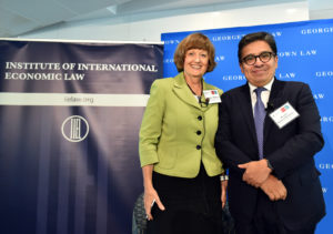 IIEL Distinguished Senior Fellow and Georgetown Law Professor from Practice Jennifer Hillman, a former member of the World Trade Organization's Appellate Body, interviewed Ricardo Ramirez-Hernandez, the former chairman of the WTO Appellate Body.