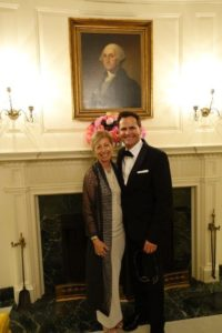 Photo of Bruce (L'80) and Ann Blume.