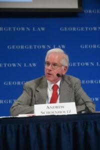 Professor from Practice Andrew I. Schoenholtz.