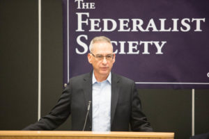 "Professor Randy Barnett at ""Beyond Confirmation: How Justice Kavanaugh Will Impact the Supreme Court,"" hosted by the Federalist Society on October 10."