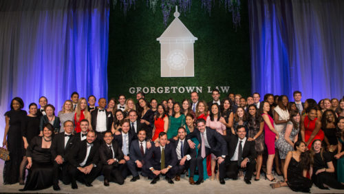 5th Reunion Class Photo at the Georgetown Law Reunion Gala on Saturday, October 20, 2018.