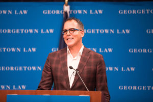 Yale Law School Professor James Forman Jr., who taught at Georgetown Law from 2003 to 2011, delivered the 2018-2019 Philip A. Hart Memorial Lecture on November 15.