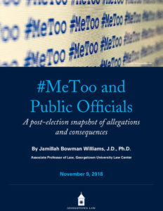 #MeToo Report cover. Click on the image to see the full report.
