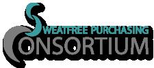 "Logo that says, ""Sweatfree Purchasing Consortium"""