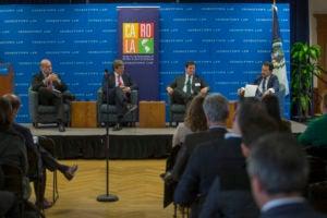 Paz, Frias, de Roa, and Santos at the event.