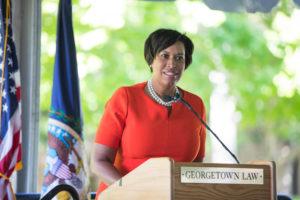 D.C. Mayor Muriel Bowser.