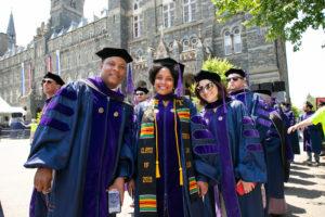 2019 Georgetown Law graduates.