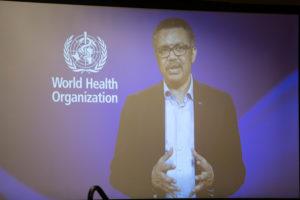 Dr. Tedros Adhanom Ghebreyesus.