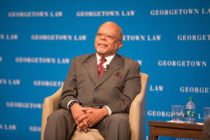 Harvard Professor Henry Louis Gates Jr. talks to the 2019 graduating class.
