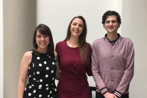 Students Nicole Ratelle (L'19), Jessica (Jess) Rodgers (L'19), and Solomon Miller (L'20) worked on an opening brief and a reply brief to the U.S. Court of Appeals for the Seventh Circuit in the Appellate Courts Immersion Clinic in Spring 2019. The students worked under the supervision of Professor Brian Wolfman and Fellow Bradley GIrard (L'14, LL.M.'20).