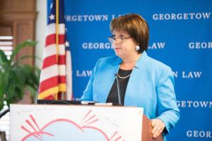 Keynote speaker Natalie Jaresko.