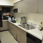 Counter-top and appliances in Rothschild Kosher Kitchen