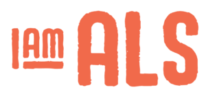 Logo of the nonprofit organization I Am ALS, founded by Brian Wallach (L'07).