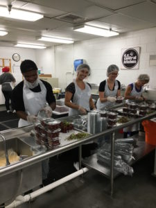 Students at D.C. Central Kitchen.